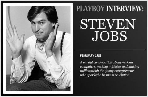 Steve Jobs im Playboy-Interview