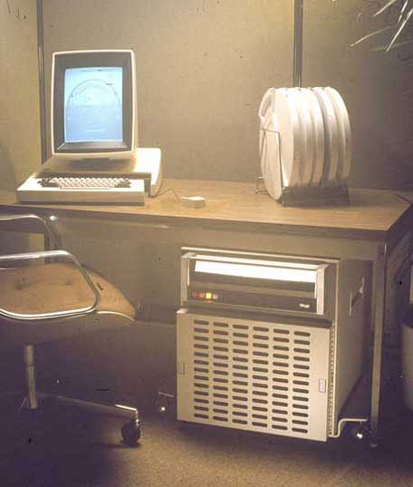 Xerox Alto (1973 Prototype Workstation)